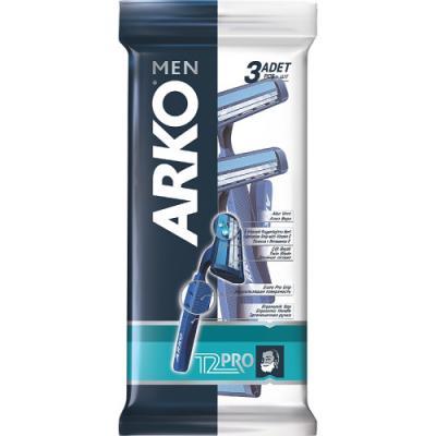 Бритвенный станок Arko Men T2 PRO 3 станок д бритья arko system3 однораз 4шт уп