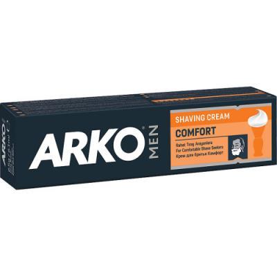 ARKO MEN Крем для бритья Comfort 65г станок д бритья arko system3 однораз 4шт уп