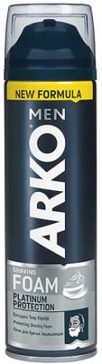 ARKO MEN Пена для бритья Platinum Protection 200мл пена для бритья cool arko men 200 мл