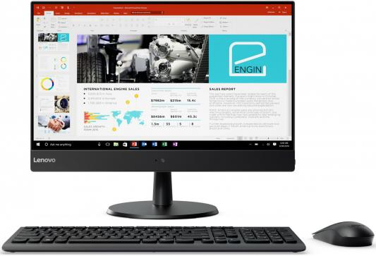Моноблок 23 Lenovo V510z 1920 x 1080 Intel Core i3-7100T 8Gb 1Tb Intel HD Graphics 630 Windows 10 Professional черный 10NQ001PRU моноблок lenovo v410z 21 5 intel core i3 7100t 8гб 1000гб intel hd graphics 630 dvd rw windows 10 professional черный [10qv000eru]