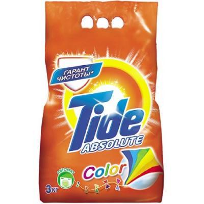 Стиральный порошок Tide Для белого и цветного 3кг ому газонное 3кг