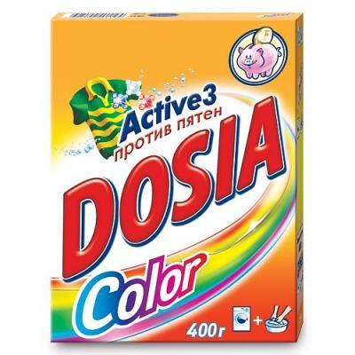 Стиральный порошок DOSIA Color 400г порошокстиральныйcolor автомат3кг