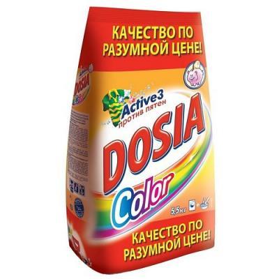 Стиральный порошок DOSIA Color 5.5кг рб dosia стир порошок авт белый снег 1 8кг 953037