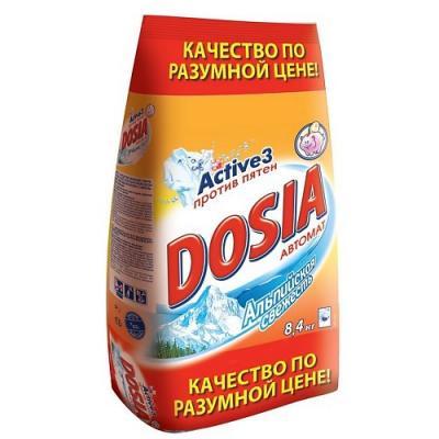 Стиральный порошок DOSIA Альпийская свежесть 8.4кг
