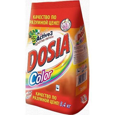 Стиральный порошок DOSIA Color 8.4кг стиральный порошок для ручной стирки пемос 350 г