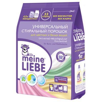 MEINE LIEBE Универсальный стиральный порошок Концентрат 1000 г детский стиральный порошок meine liebe концентрат 1000 г