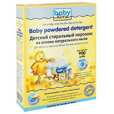 Стиральный порошок Babyline 900г babyline стиральный порошок db001 900 гр