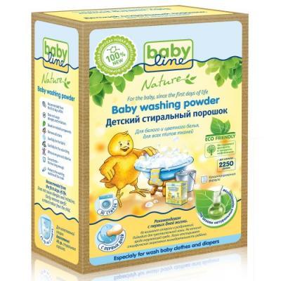 Стиральный порошок Babyline Nature 2.25кг babyline стиральный порошок db001 900 гр