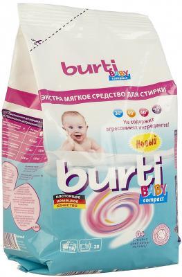 Стиральный порошок Burti Compact Baby 900г стиральный порошок deni тотал стойкий цвет 450 г