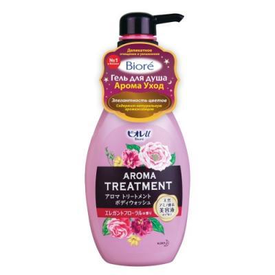 BIORE Гель для душа Арома Уход Элегантность цветов 480 мл косметика для мамы vitamin гель для душа 5 цветов 650 мл