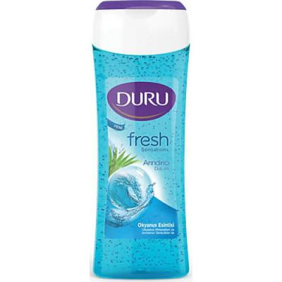 DURU Fresh Гель для душа Океан 250мл набор duru natures treasures гель д д оливка 250мл гель д д облепиха 250мл мочалка