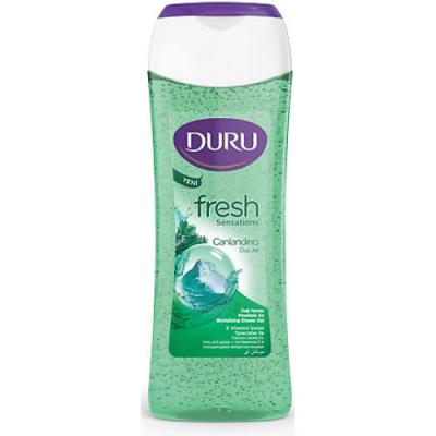 DURU Fresh Гель для душа Горный 250мл набор duru natures treasures гель д д оливка 250мл гель д д облепиха 250мл мочалка