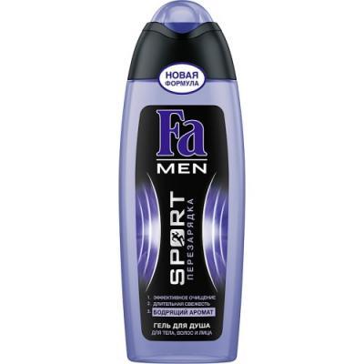 FA MEN Гель для душа Sport Перезарядка 250мл набор fa греческий йогурт гель д душа 250мл мыло 2шт х90г