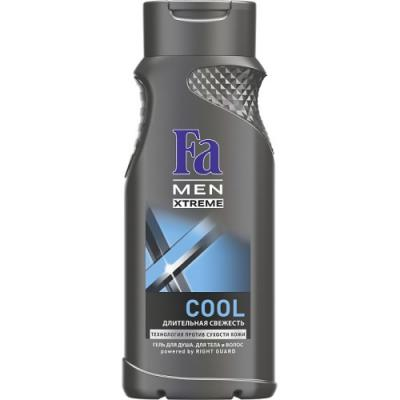 Fa MEN Гель для душа Xtreme Cool 250мл набор fa греческий йогурт гель д душа 250мл мыло 2шт х90г