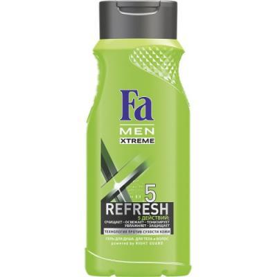 FA MEN Гель для душа Xtreme Refresh 5 250мл fa men гель для душа охлаждение экстрим 250 мл