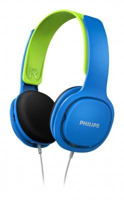 Наушники Philips SHK2000 синий зеленый