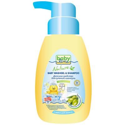 Средство для купания Babyline Nature с оливковым маслом 250 мл от 123.ru