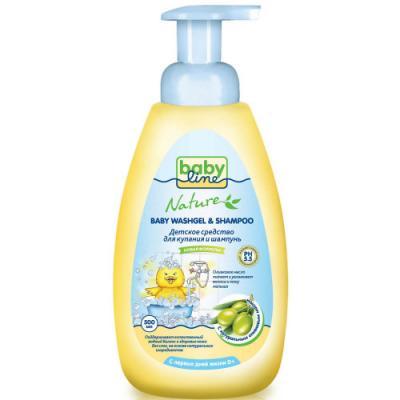 Средство для купания Babyline Nature с оливковым маслом 500 мл от 123.ru