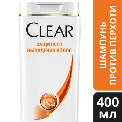 Шампунь Clear Защита от выпадения волос 400 мл от 123.ru