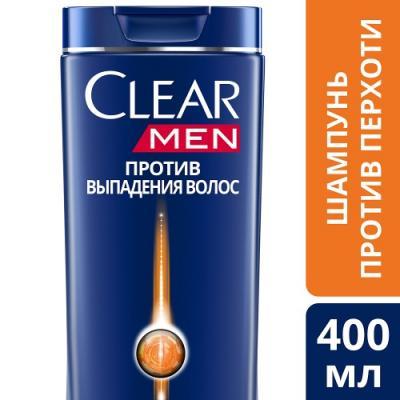 Шампунь Clear Против выпадения волос 400 мл от 123.ru