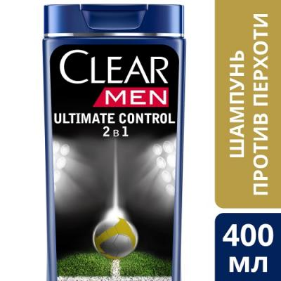 Шампунь Clear Ultimate control 2 в 1 400 мл от 123.ru