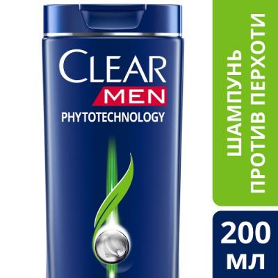 Шампунь Clear Phytotechology 200 мл шампунь clear ледяная свежесть с ментолом 200 мл 67299617