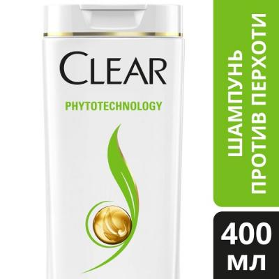 Шампунь Clear Phytotechology 400 мл шампунь clear clear cl017lwjoq40