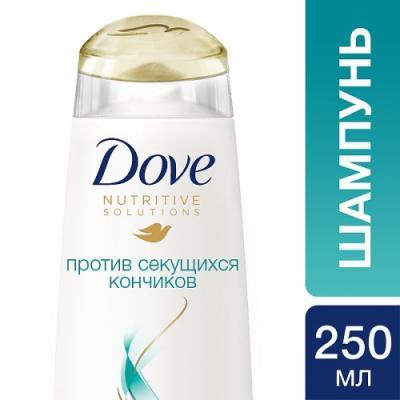 Шампунь Dove Против секущихся кончиков 250 мл шампуни ec lab шампунь для секущихся волос питательный 250мл