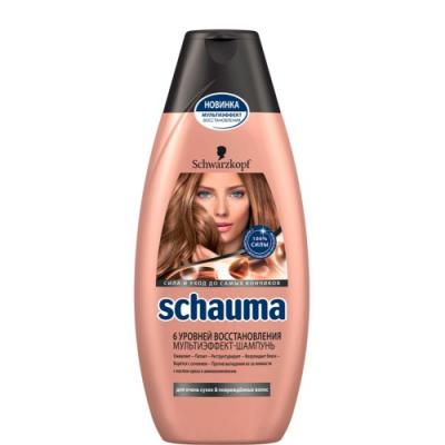 Шампунь Schauma 6 Уровней Восстановления 380 мл шампунь schauma schauma sc012lwbdtf3