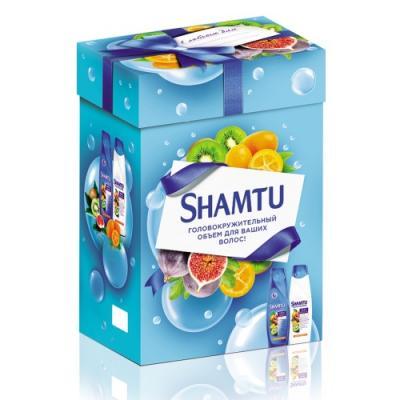 Набор Shamtu Экстракт фруктов подарочный janssen tropic power матригель лифтинг маска с экстрактами тропических фруктов 2 желтых круга