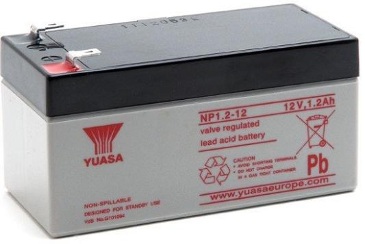 Батарея Yuasa NP1.2-12 12V/1.2AH yuasa yb10l a2