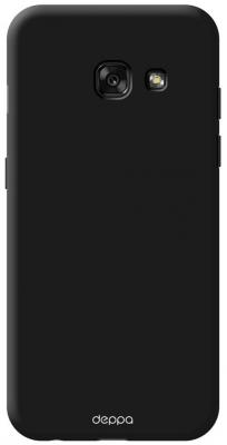 Чехол Deppa Air Case для Samsung Galaxy A3 2017 черный 83281 чехол deppa art case и защитная пленка для samsung galaxy s6 патриот крым ваш