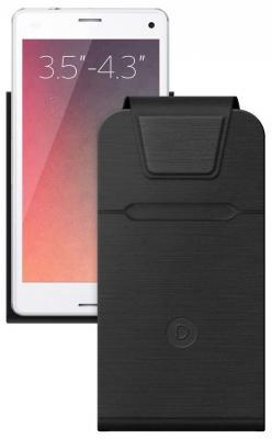 Чехол Deppa для смартфонов Flip Fold S 3.5''-4.3' черный 87015 luxury stand flip
