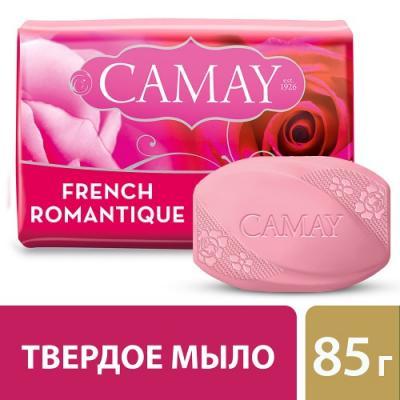 Мыло твердое CAMAY Романтик 80 гр 67048276 мыло твердое camay романтик 300 гр 67048278