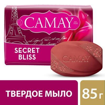 Мыло твердое CAMAY Тайное блаженство 80 гр 67048256 мыло твердое camay романтик 300 гр 67048278