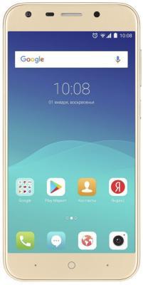 Смартфон ZTE Blade A6 золотистый 5.2 32 Гб LTE Wi-Fi GPS 3G BLADE.A6.GD смартфон zte blade a6 черный 5 2 32 гб lte wi fi gps 3g blade a6 gold