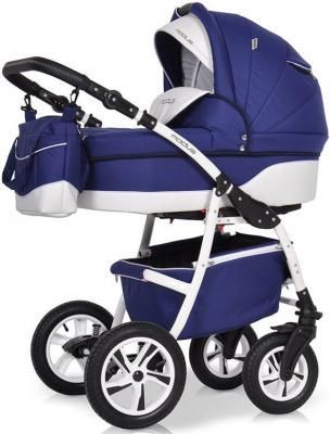 Коляска 2-в-1 Riko Modus New (23/синий-белый) коляска 2 в 1 aroteam pablo new