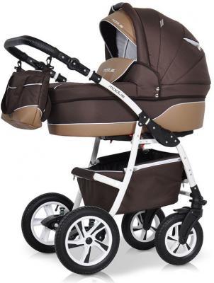 Коляска 2-в-1 Riko Modus New (25 коричневый-бежевый) коляска 2 в 1 aroteam pablo new