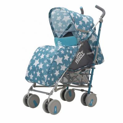 Фото - Коляска прогулочная Rant Molly Alu (stars aquamarine) коляска прогулочная everflo safari grey e 230 luxe