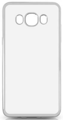 Чехол силиконовый DF sCase-29 с рамкой для Samsung Galaxy J5 2016 серый