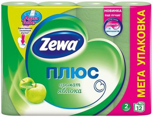 Бумага туалетная Zewa Плюс 2-ух слойная ароматизированная 12 шт туалетная бумага belux арома 4шт ягоды mix 931460