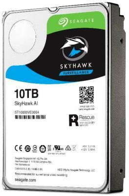 Жесткий диск 3.5 10 Tb 7200rpm Seagate SkyHawkAI SATAIII ST10000VE0004 ножницы для живой изгороди 10 truper tb 17 31476
