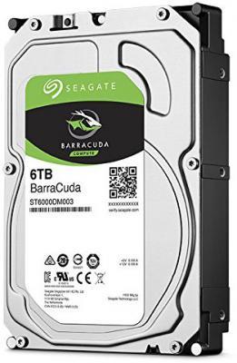 Жесткий диск 3.5 6 Tb 5400rpm 256Mb cache Seagate Barracuda SATAIII ST6000DM003