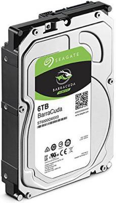 "Жесткий диск 3.5"" 6 Tb 5400rpm 256Mb cache Seagate Barracuda SATAIII ST6000DM003"
