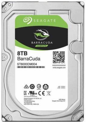 """Жесткий диск 3.5"""" 8 Tb 7200rpm 256Mb cache Seagate Barracuda SATAIII ST8000DM004 цена и фото"""