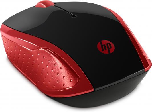 Фото - Мышь беспроводная HP 200 Emprs красный чёрный USB 2HU82AA беспроводная bluetooth колонка edifier m33bt
