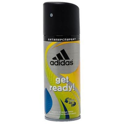 Дезодорант-антиперспирант ADIDAS Get Ready! 150 мл древесный 31999162000 adidas get ready 75 мл adidas 3607349796402