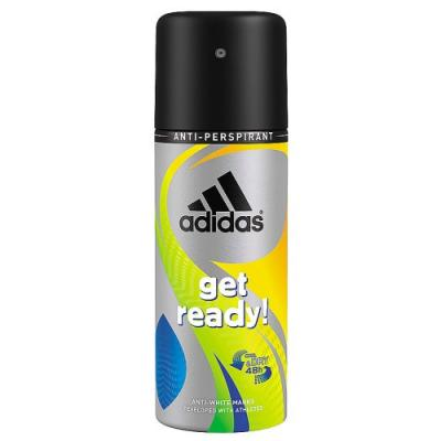 Дезодорант-антиперспирант ADIDAS Get Ready! 150 мл древесный 31723007000 adidas get ready 75 мл adidas 3607349796402
