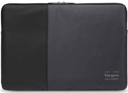 Чехол для ноутбука 13.3 Targus TSS94604EU нейлон черный серый сумка для ноутбука targus classic clamshell cn418eu 70 black полистер до 18