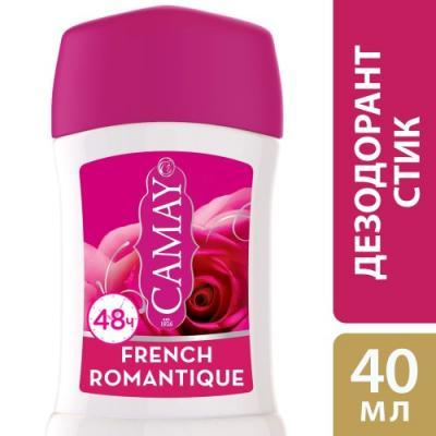 Дезодорант-антиперспирант CAMAY French Romantique 40 мл цветочный 67272265 camay дезодорант антиперспирант стик динамик 40мл